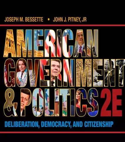 American Government and Politics Deliberation, book cover of Democracy and Citizenship