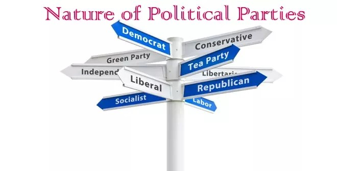 Nature of Political Parties
