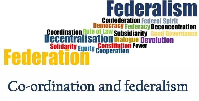Co-ordination and federalism