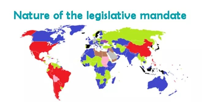 Nature of the legislative mandate