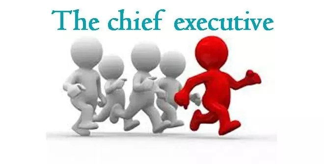the chief executive