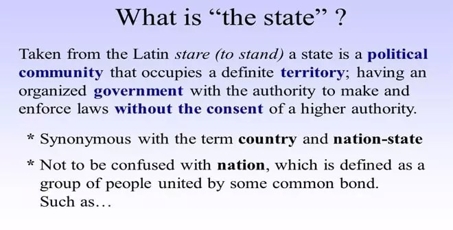 What is the State