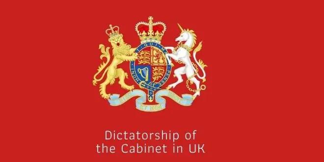 Dictatorship of the Cabinet in UK