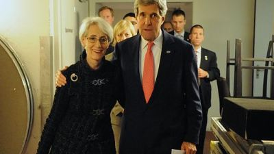 Wendy Sherman & John Kerry