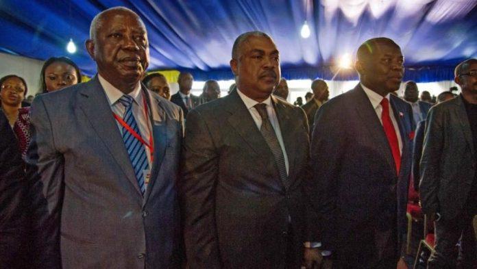 Des opposants congolais au Dialogue de la Cité de l'UA.