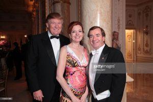 M. et Mme Royce en compagnie de Donald Trump