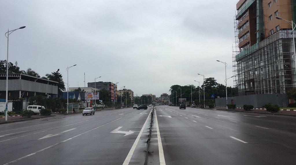 A Kinshasa, l'armée et la Police seules dans les rues