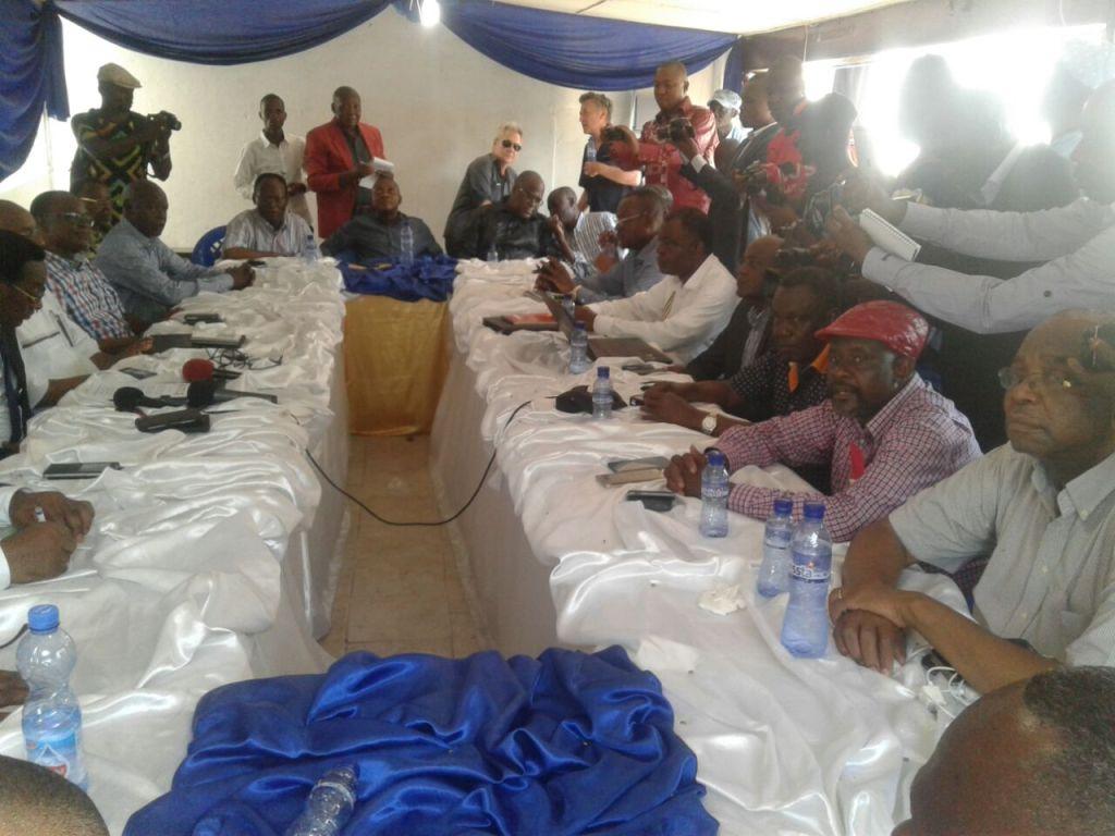 """Le Rassemblement demande aux Congolais de """"prendre leurs responsabilités"""""""