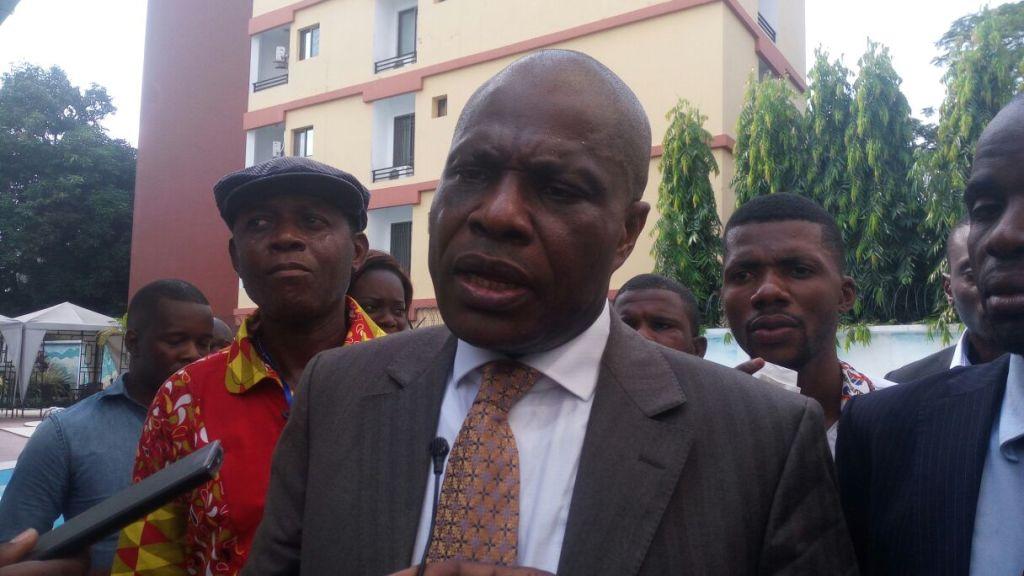 """Martin Fayulu: """"on ne peut pas accepter des élections non transparentes, il faut être sérieux!"""""""