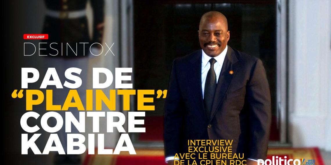 «Plainte» contre Joseph Kabila à CPI: ce qu'il faut vraiment savoir