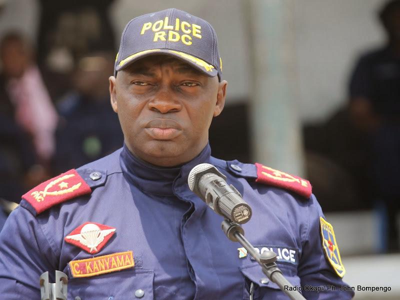 """Zando: Kanyama parle d'une """"une tentative de vol"""" repoussée par la Police"""