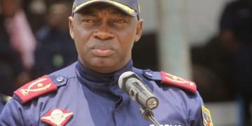 Le Général Kanyama remplacé à la tête de la Police de Kinshasa
