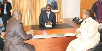 Emery OKundji «déterminé» à relever les défis «de la fibre optique, de la 4G et de l'économie numérique»