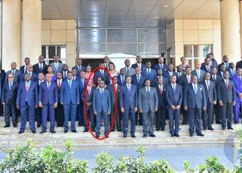 Polémique au sujet de la présence de Nehemie Mwilanya sur la photo du gouvernement