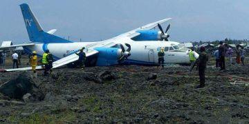 Goma: atterrissage catastrophe d'un cargo
