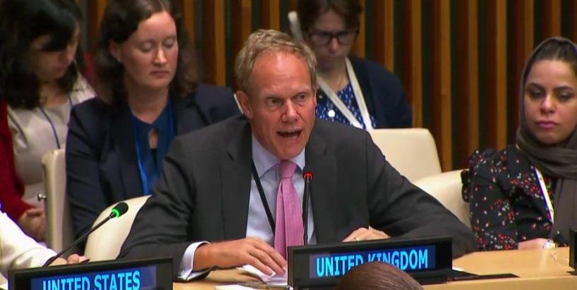 Matthew Rycroft: «un respect intégral de l'accord du 31 décembre est nécessaire»