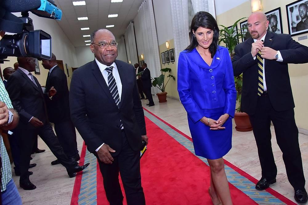La visite de Nikki Haley à Kinshasa également annulée!