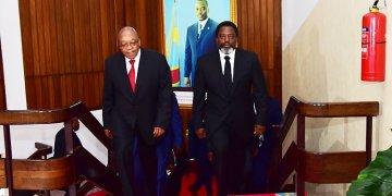 Jacob Zuma exprime «son soutien au processus électoral» en RDC