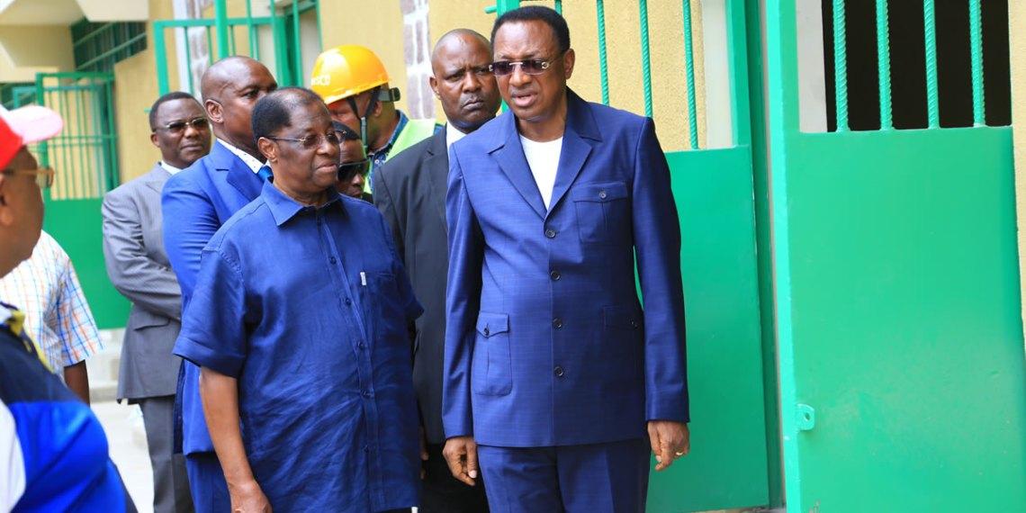 Tshibala visite Luzumu, réhabilitée avec l'aide de la Suède et la Belgique