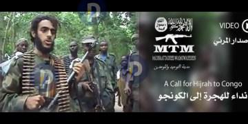 Une vidéo attribuée au groupe Etat islamique appelle au djihaddans l'Est de la RDC