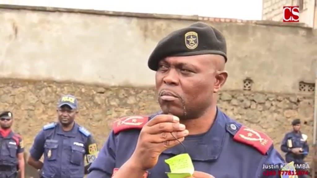A Goma, le chef de la police ordonne à réprimer «sans états d'âme » les manifestants