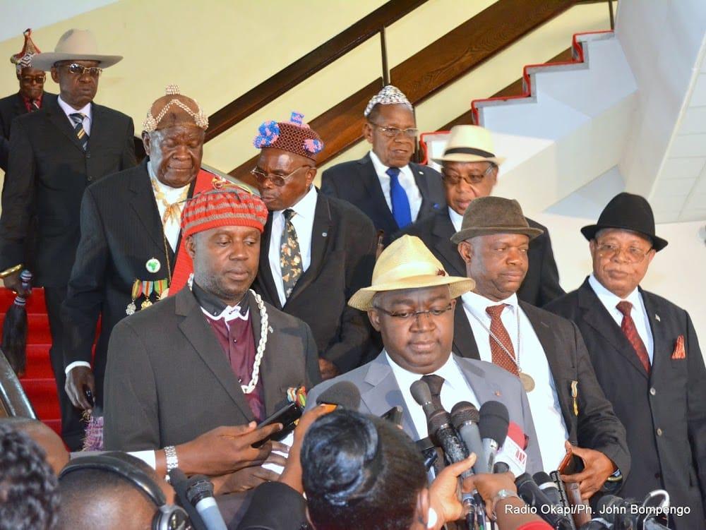 Les chefs coutumiers apportent leur soutien au calendrier électoral