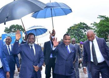 Tripartite RDC-Congo-Angola à Brazzaville