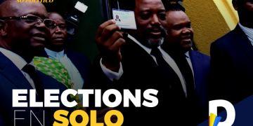 Kabila veut vraiment aller aux élections, mais seul!