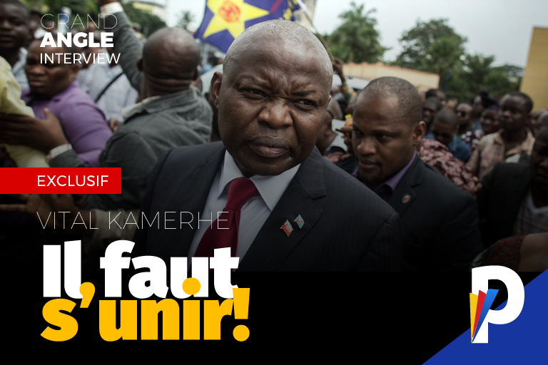 Vital Kamerhe, première personnalité politique reçue par Jean-Pierre Bemba