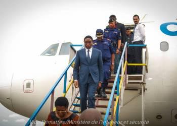 Henri Mova Sakanyi  évalue la situation sécuritaire dans la Tshopo