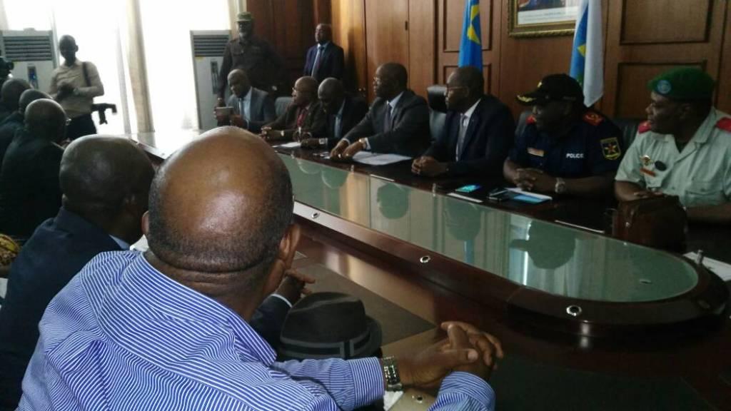 "André Kimbuta ""prend acte"" du meeting de l'UDPS le 24 avril à Kinshasa"