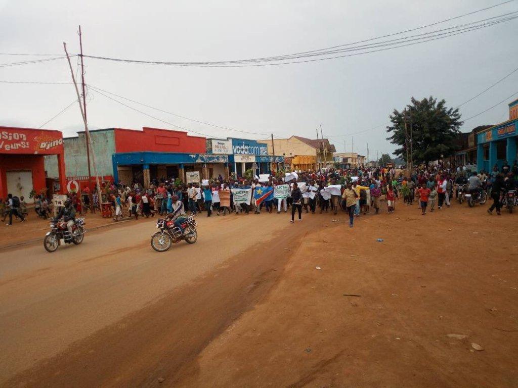 Beni: 42 activistes Lucha aux arrêts