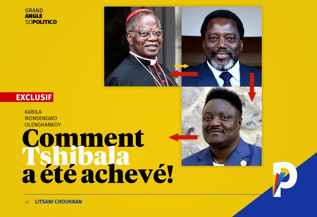 Comment un échange Kabila, Monsengwo et Olenghankoy a achevé Tshibala