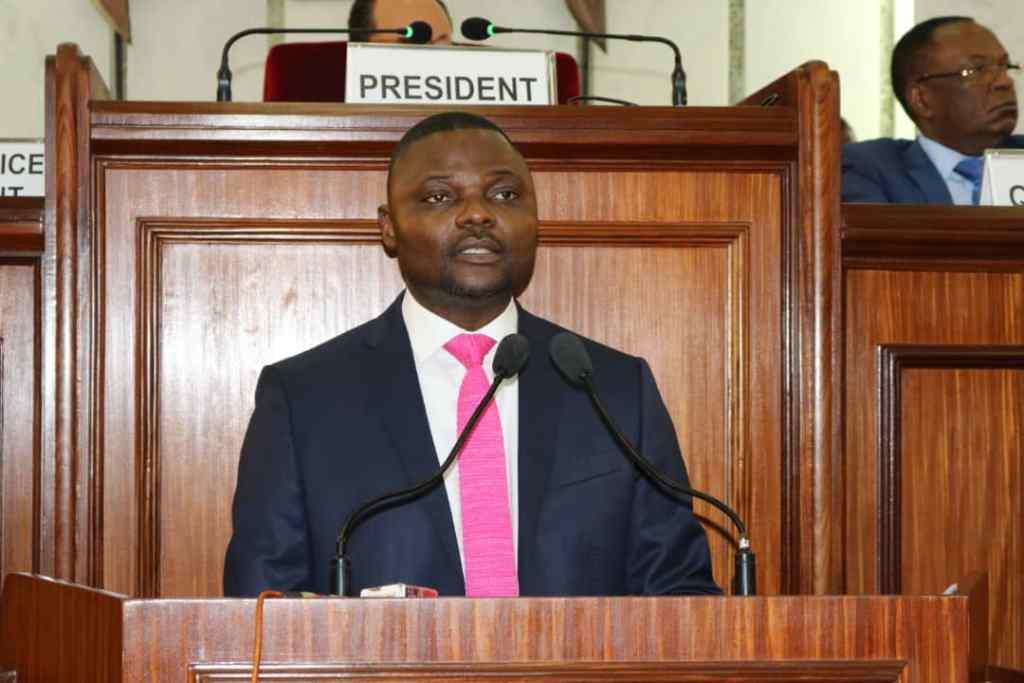 Au Sénat, Emery Okundji défend la nouvelle loi sur les télécoms en RDC