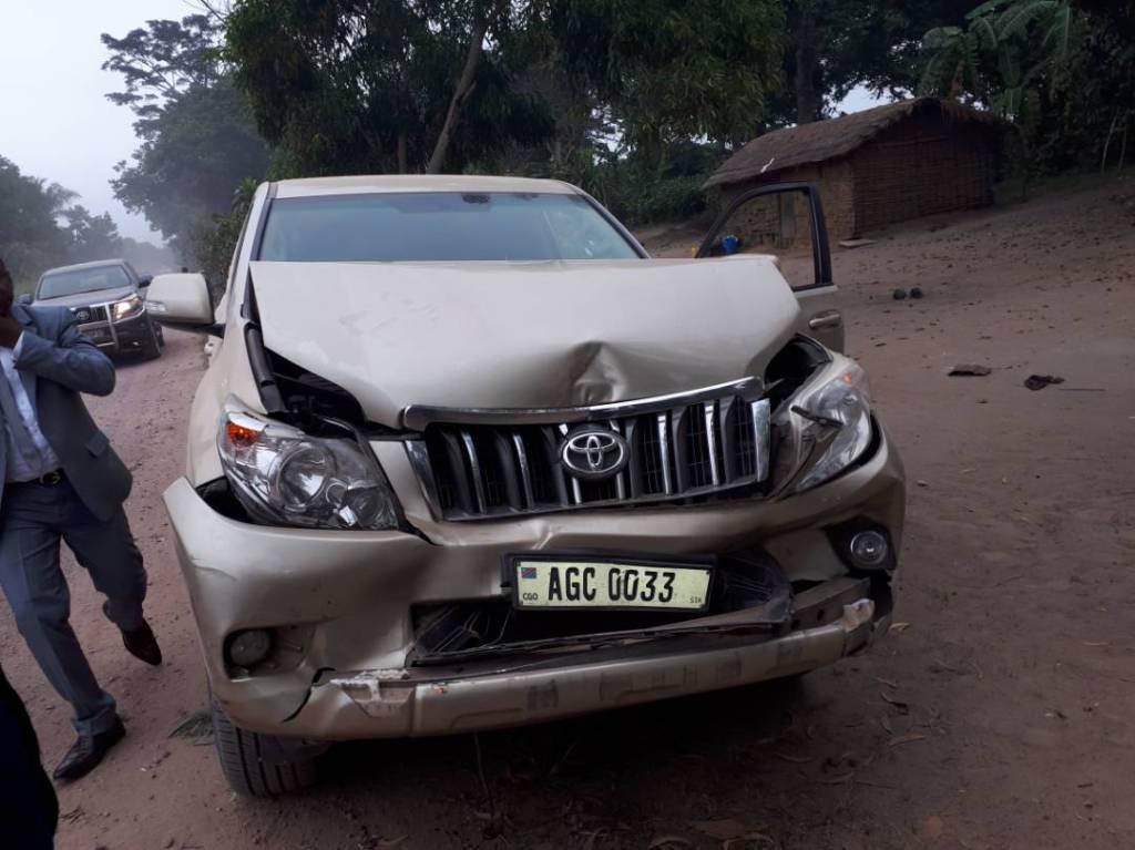 RDC: des membres du gouvernement victimes d'un accident de circulation