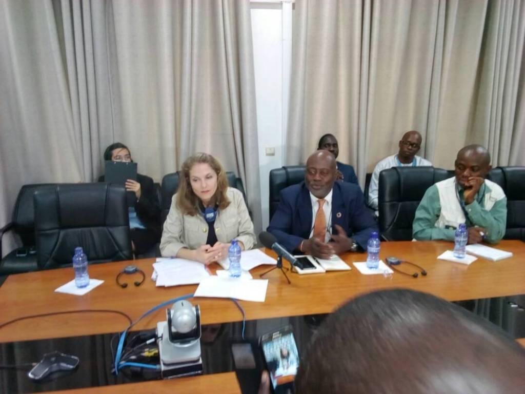 Humanitaire: la princesse Sarah Zeid en plaidoyer à Kinshasa