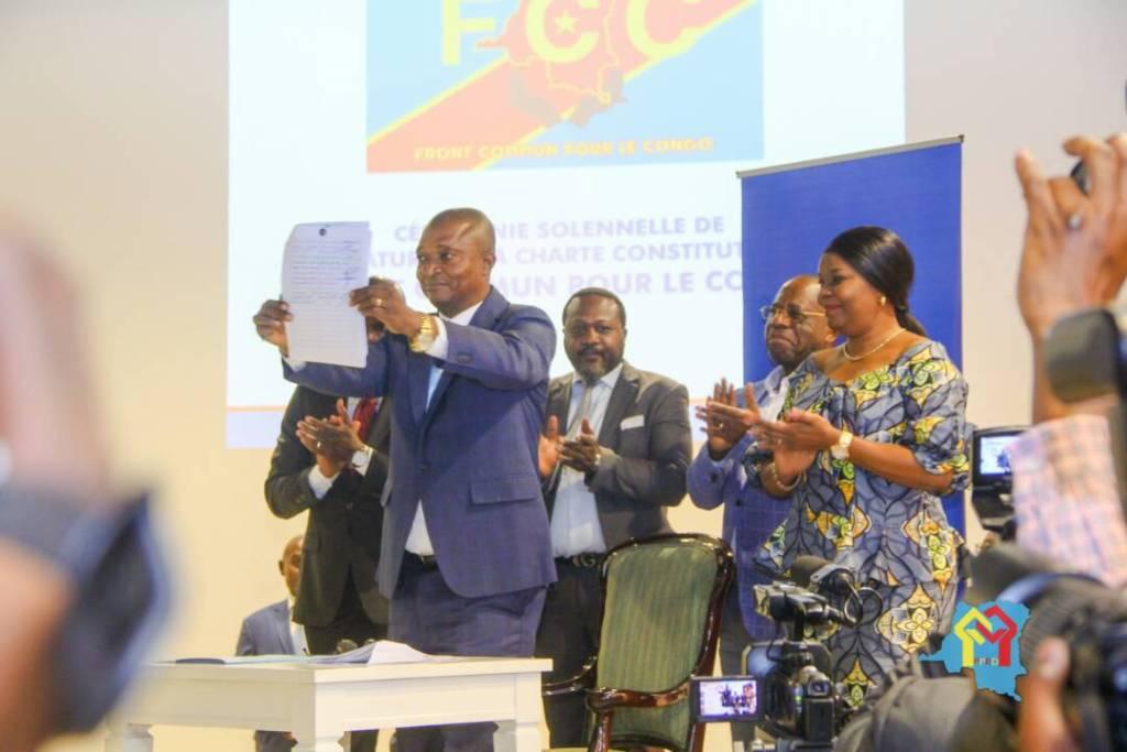 Joseph Kabila porté officiellement à la tête du Front commun pour le Congo