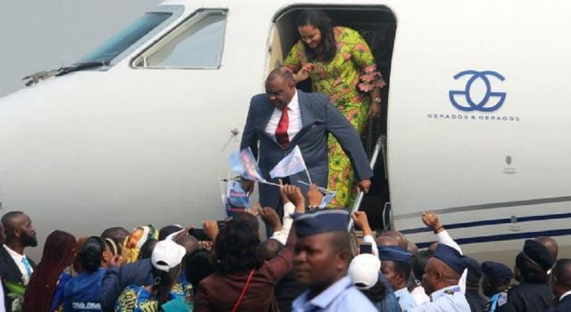 RDC: toujours empêché d'accéder à son domicile, Bemba depose sa candidature à la Présidentielle