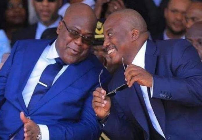 TSHISEKEDI EN COURS DE GAGNER LA BATAILLE CONTRE 'JK' ET KAMERHE  ?  TSHISEKEDI CONTRAINT DE CHOISIR ENTRE LE FCC ET L'AMERIQUE ? JUSQU'OU PEUT-IL ALLER MAINTENANT ? Kabila-tshisekedi