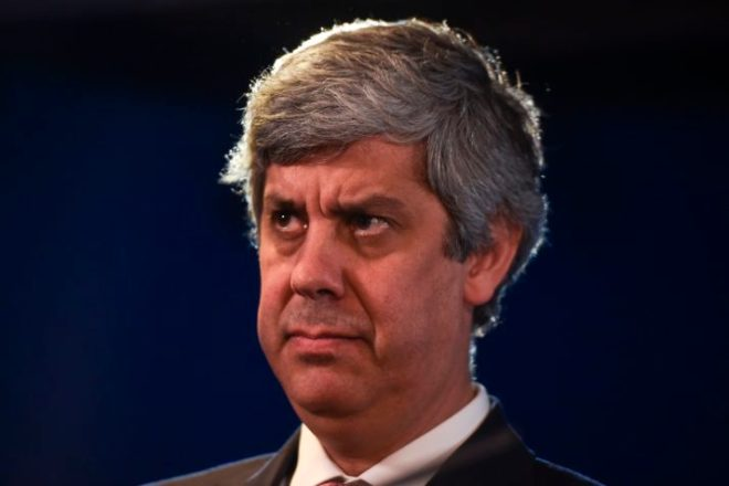 Portuguese Finance Minister Mario Centeno | Patricia De Melo Moreira/AFP via Getty Images