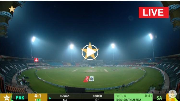 Live Cricket | Pak vs SA | Pakistan vs South Africa (SA vs ...