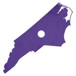 North Carolina is purple. Period.