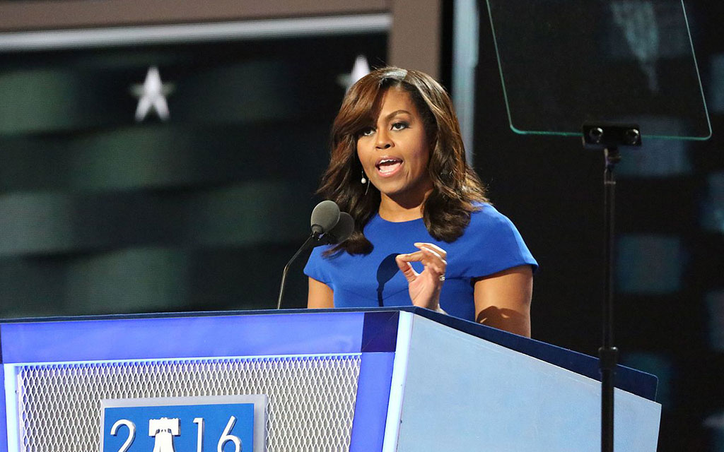 Michelle Obama wins the night and gives her party some hope