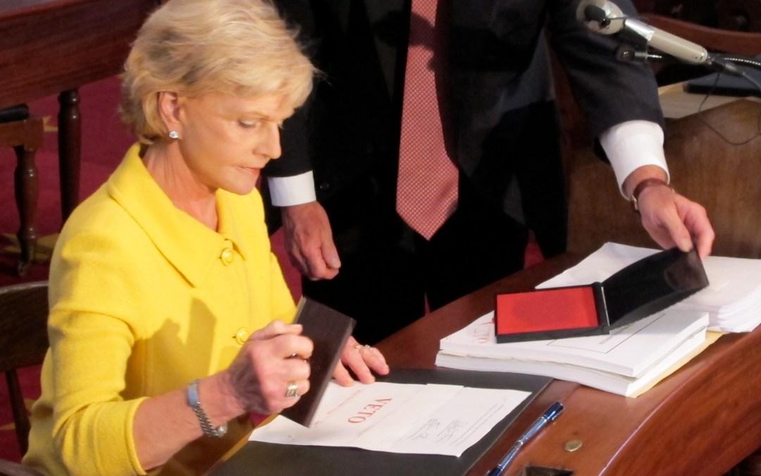 When Dems voted to override Gov. Perdue's veto