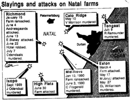 The origins of South Africa`s farm murder epidemic