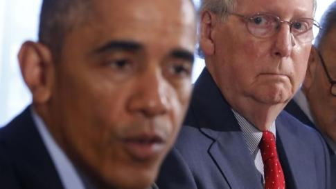 mcconnell whines about obama  60 minutes
