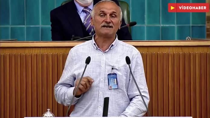 Rizeli çay üreticisi İYİ Parti kürsüsünde: Salonda A Haber muhabiri var mı?