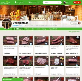 Store homepage