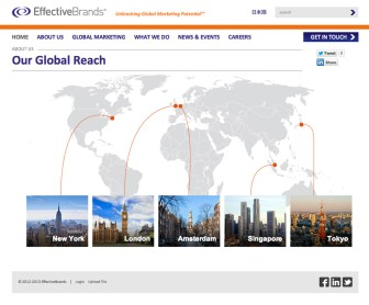 EffectiveBrands Global reach