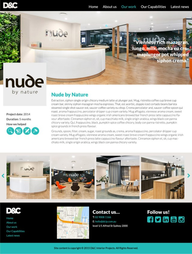 D&C Interiors: Case study